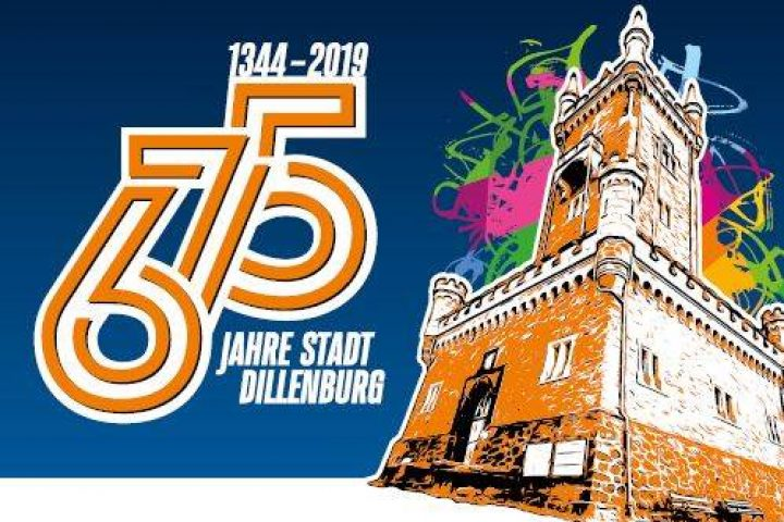 Stadtjubiläum Dillenburg Logo