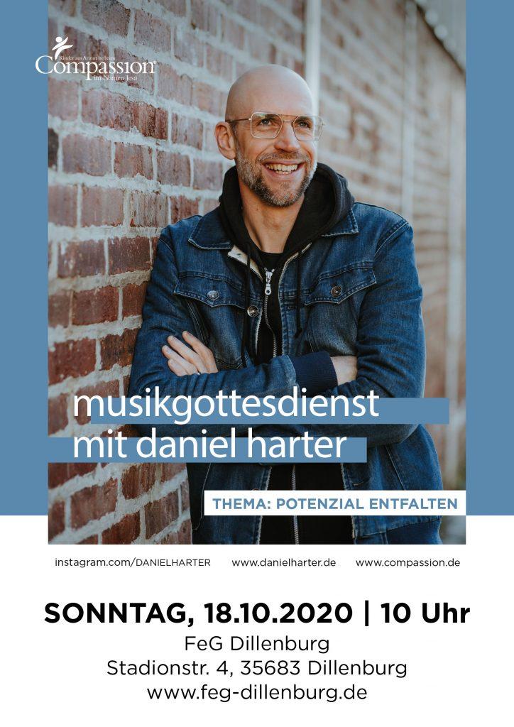 Musikgottesdienst Daniel Harter